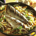 Chinese Steamed Mackerel