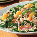 Citrus Spinach and Rice Salad