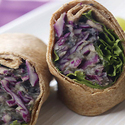 Purple Power Bean Wrap